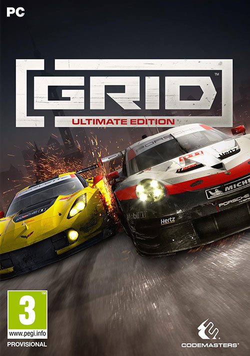 GRID Ultimate Edition - Cover / Packshot