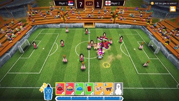 Screenshot1 - Crazy Soccer: Football Stars