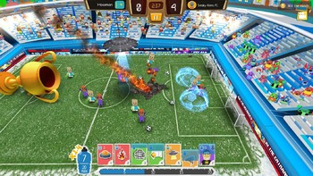 Screenshot4 - Crazy Soccer: Football Stars