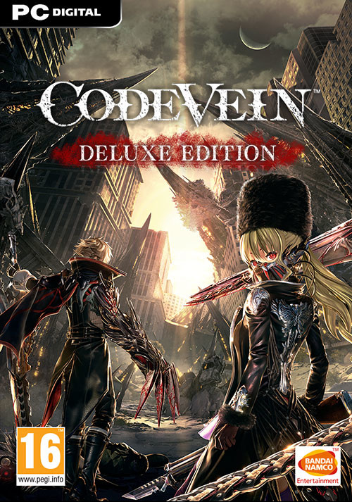 CODE VEIN Deluxe Edition - Cover / Packshot
