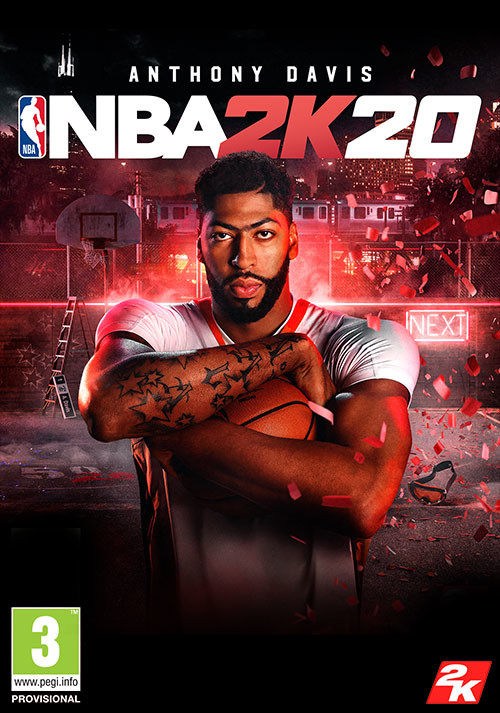 NBA 2K20 - Cover / Packshot