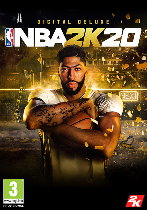 NBA 2K20 Digital Deluxe - Cover / Packshot