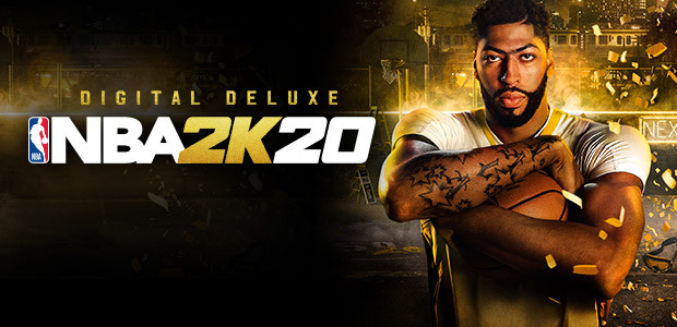 NBA 2K20 Digital Deluxe - Cover / Packshot
