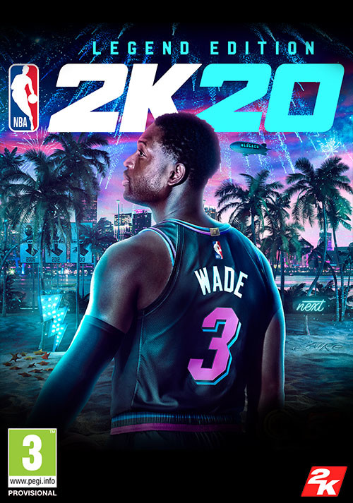 NBA 2K20 Legend Edition - Cover / Packshot