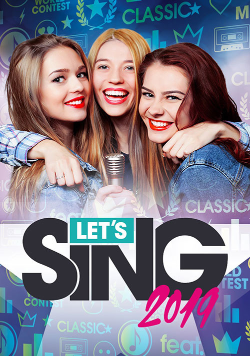 Let's Sing 2019 - Cover