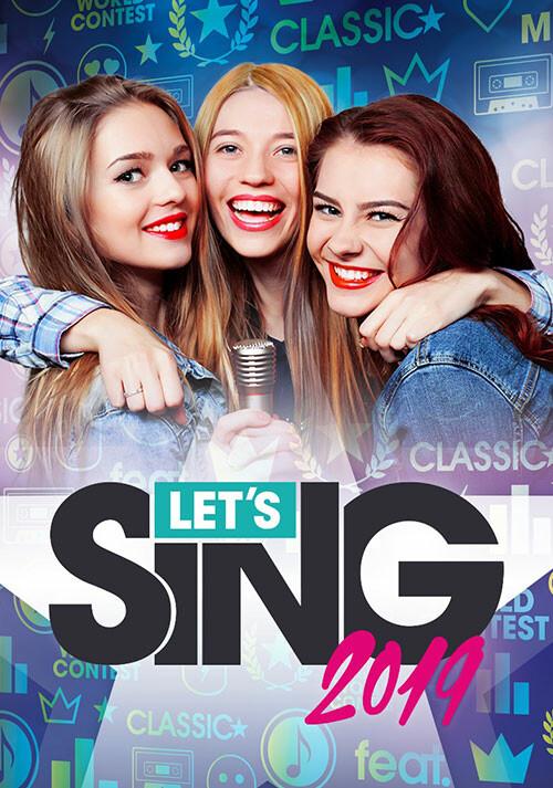 Let's Sing 2019 - Cover / Packshot
