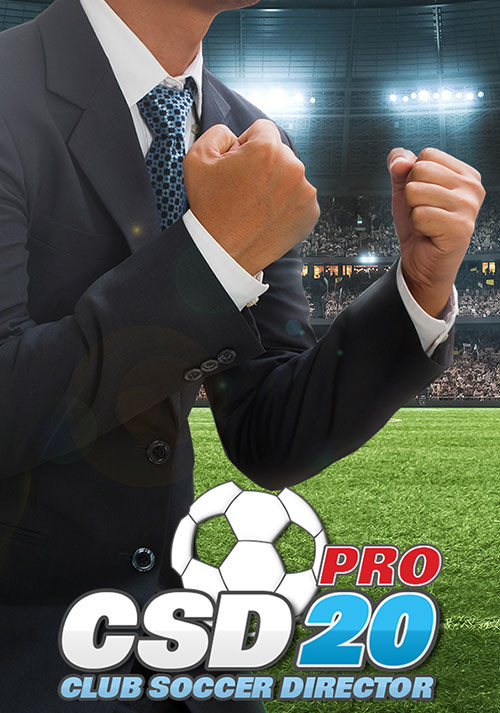 Club Soccer Director PRO 2020 - Cover