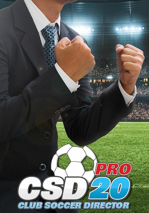 Club Soccer Director PRO 2020 - Cover / Packshot