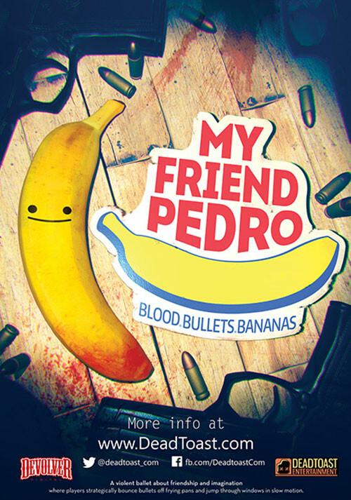 My Friend Pedro - Cover