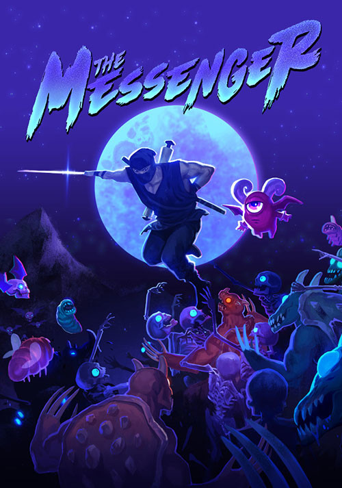 The Messenger - Cover / Packshot