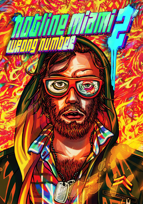 Hotline Miami 2: Wrong Number - Cover / Packshot