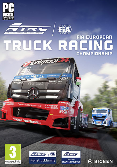 FIA European Truck Racing Championship - Cover / Packshot