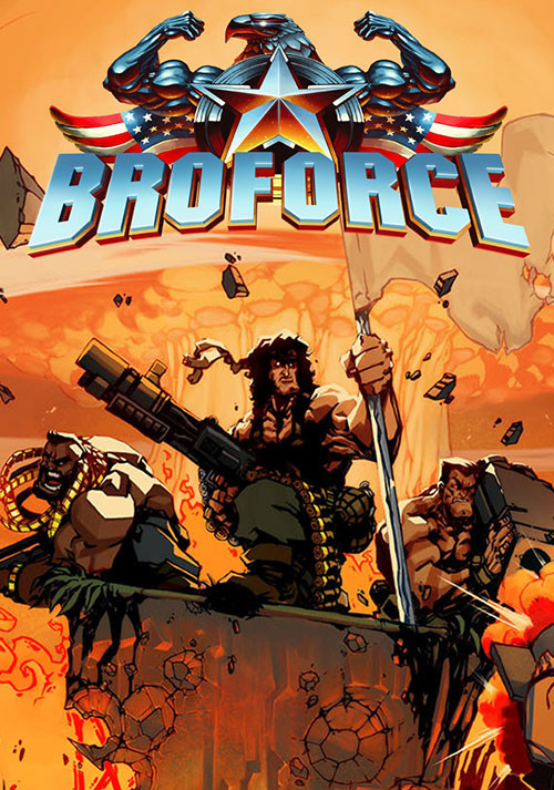 Broforce - Cover