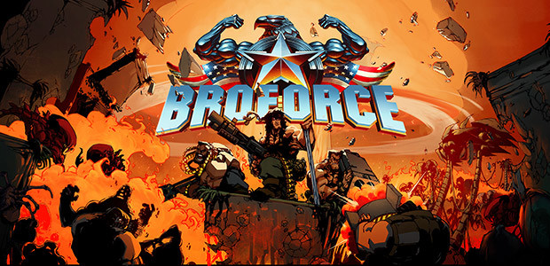 Broforce - Cover / Packshot