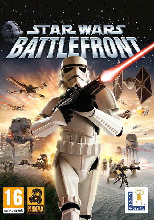 STAR WARS Battlefront (Classic, 2004) - Cover / Packshot