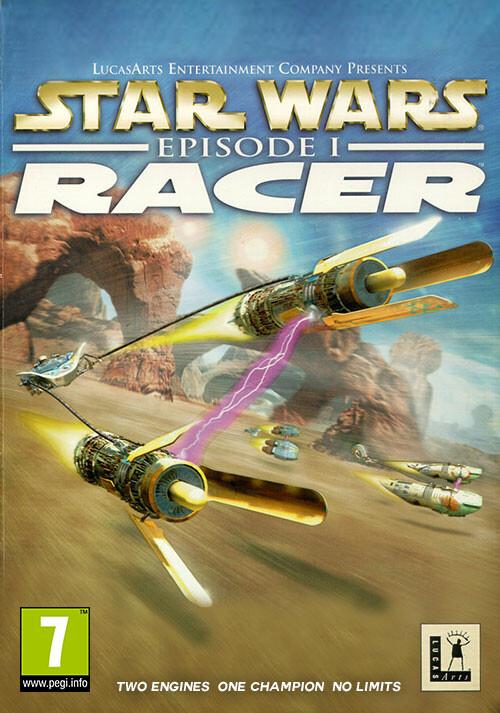 STAR WARS Episode I Racer - Cover / Packshot