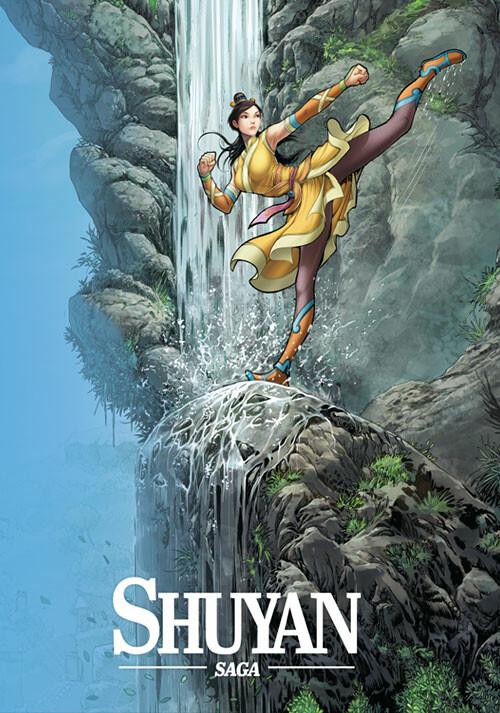 Shuyan Saga - Cover / Packshot
