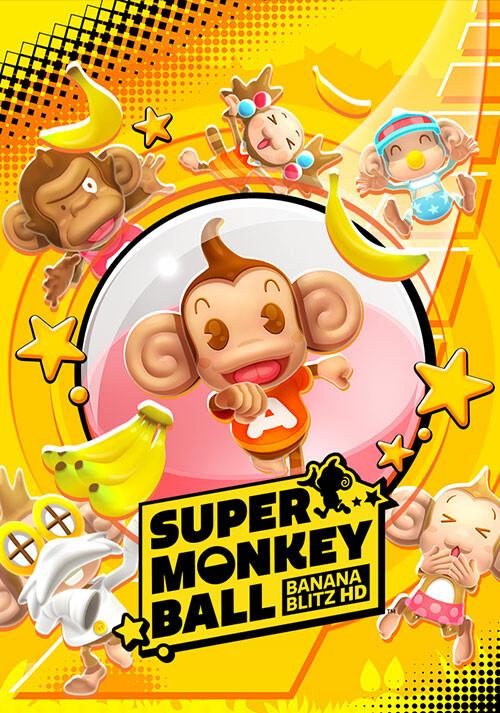 Super Monkey Ball: Banana Blitz HD - Cover / Packshot