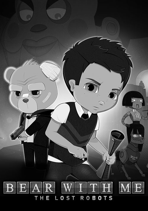 Bear With Me: The Lost Robots - Cover