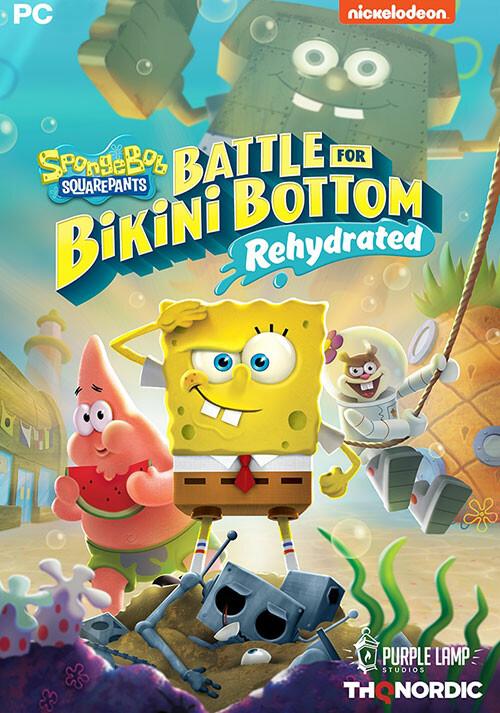 SpongeBob SquarePants: Battle for Bikini Bottom - Rehydrated - Cover / Packshot