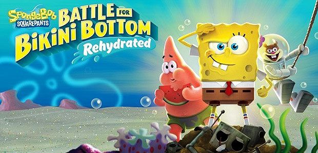 SpongeBob SquarePants: Battle for Bikini Bottom - Rehydrated - Cover / Packshot