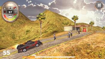 Screenshot1 - Zombie Derby