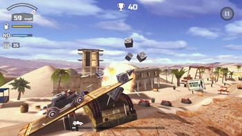 Screenshot4 - Zombie Derby 2