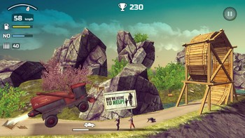 Screenshot1 - Zombie Derby 2