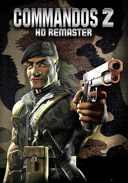 Commandos 2 - HD Remaster - Cover / Packshot