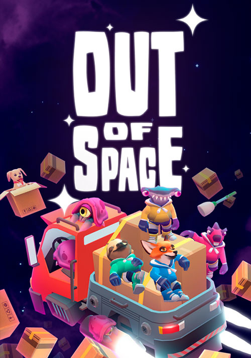 Out of Space - Cover / Packshot