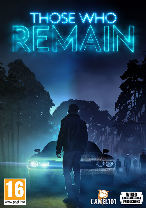 Those Who Remain - Cover / Packshot