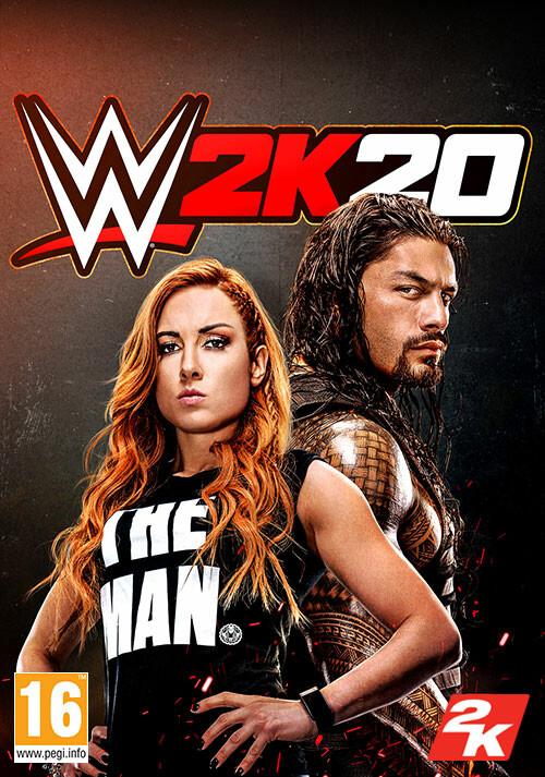 WWE 2K20 - Cover / Packshot