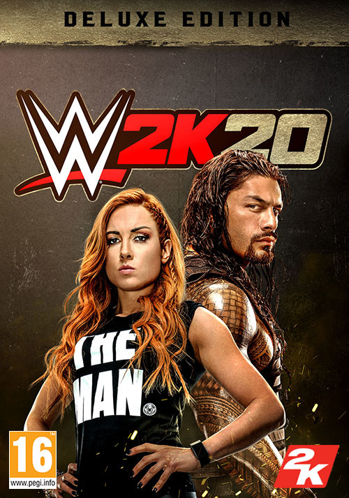 WWE 2K20 - Digital Deluxe - Cover / Packshot