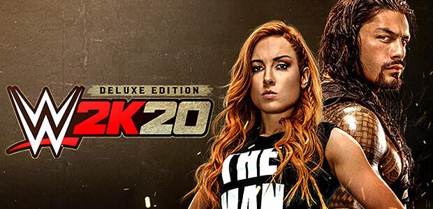 WWE 2K20 - Digital Deluxe - Cover / Packshot