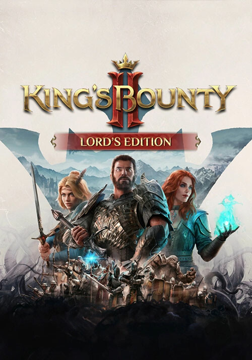 King's Bounty II - Lord's Edition - Cover / Packshot