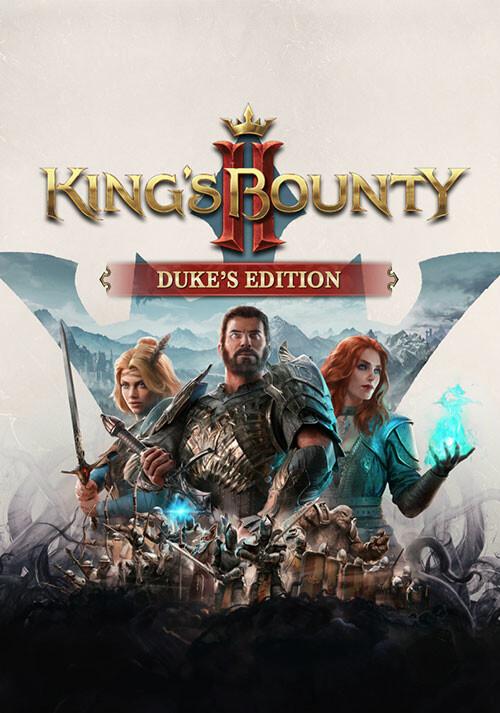 King's Bounty II - Duke's Edition - Cover / Packshot