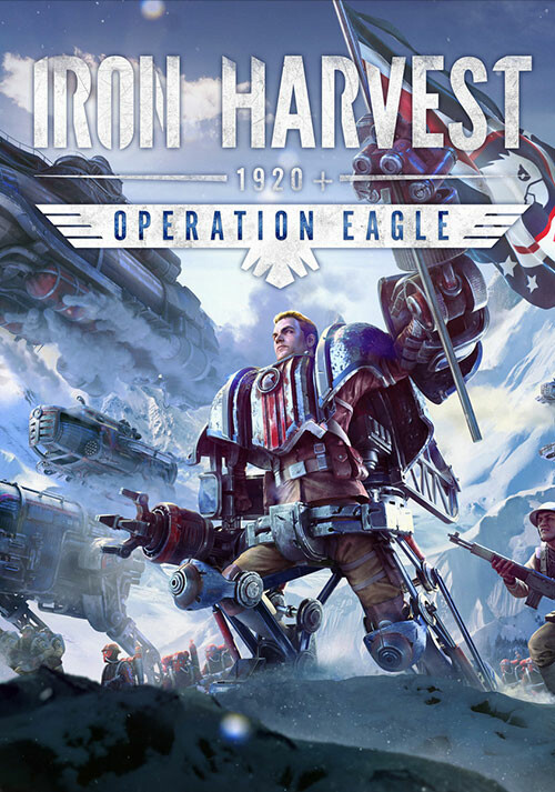 Iron Harvest: Operation Eagle - Cover / Packshot