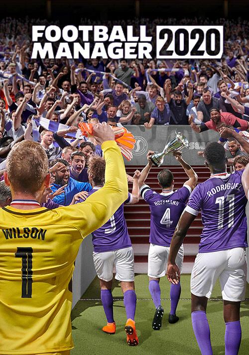 Football Manager 2020 - Cover / Packshot