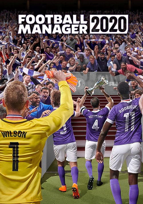 Football Manager 2020 - Cover / Packshot