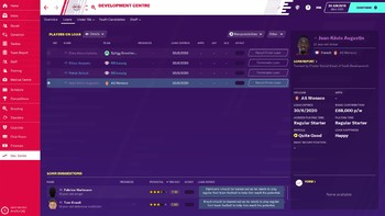 Screenshot1 - Football Manager 2020