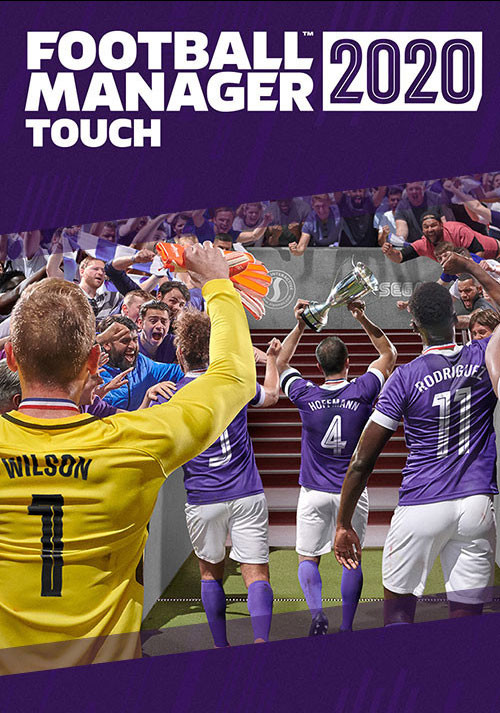 Football Manager Touch 2020 - Cover / Packshot