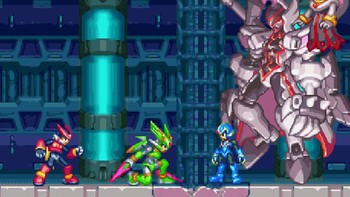 Screenshot2 - Mega Man Zero/ZX Legacy Collection