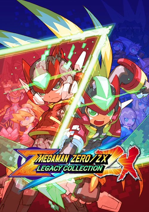 Mega Man Zero/ZX Legacy Collection - Cover / Packshot
