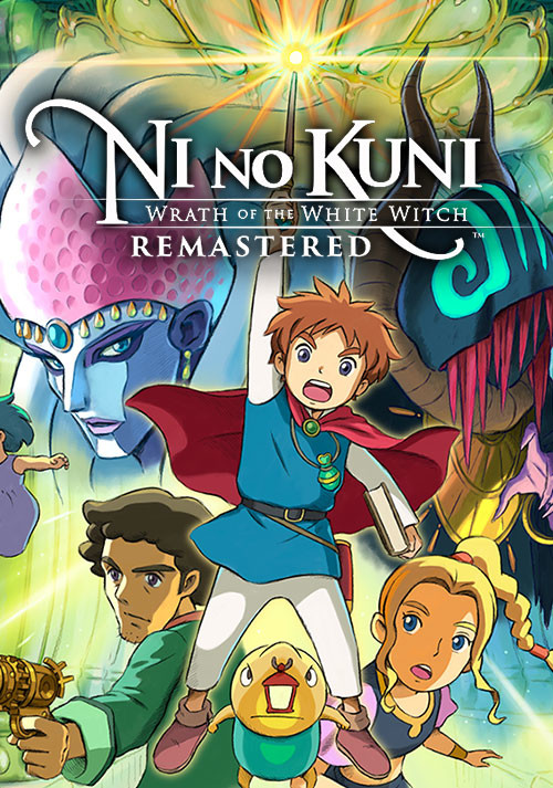 Ni no Kuni: Wrath of the White Witch Remastered - Cover / Packshot