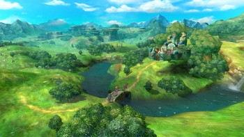 Screenshot1 - Ni no Kuni: Wrath of the White Witch Remastered