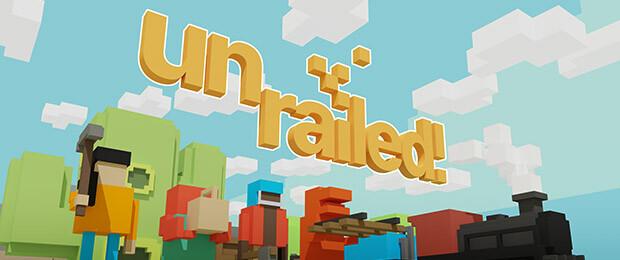 Unrailed: Aufbauspiel für teamfähige Eisenbahnfreunde