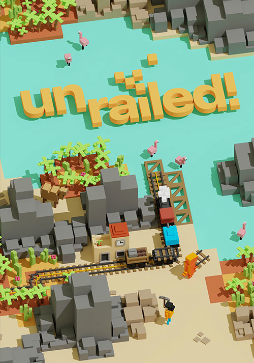 Unrailed! - Cover / Packshot