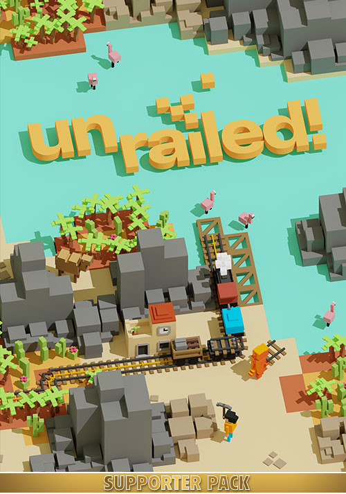 Unrailed! - Supporter Pack - Cover / Packshot