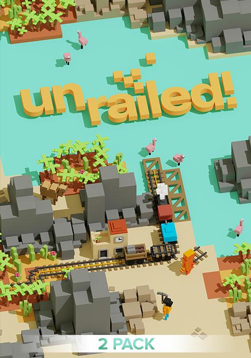 Unrailed! - 2 Pack - Cover / Packshot