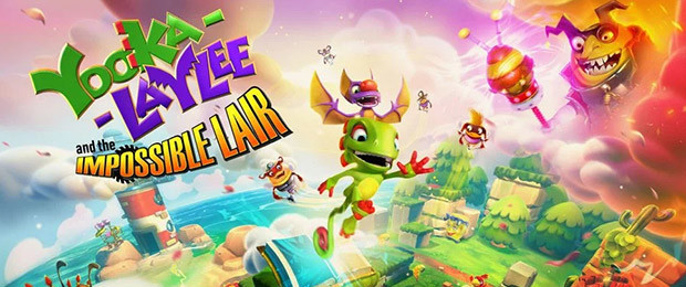 Yooka-Laylee and the Impossible Lair - Now Available!